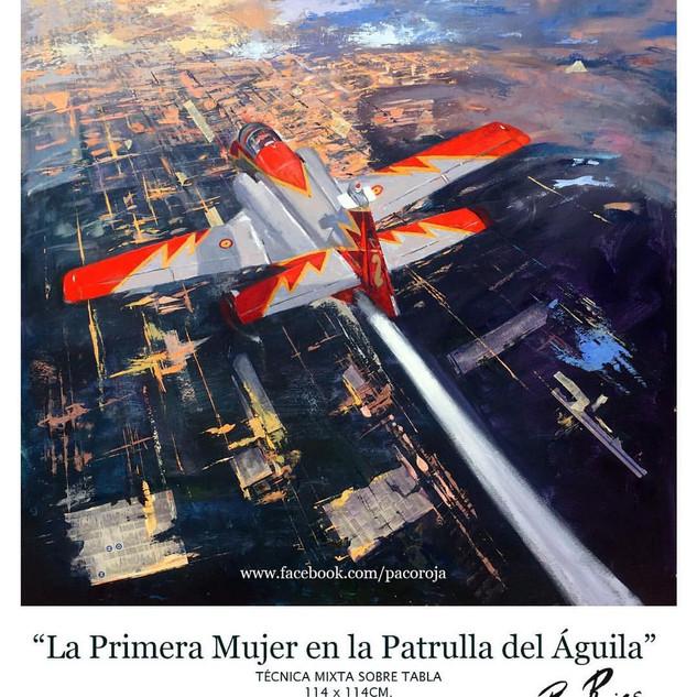 """Accésit """"Premio Nacional de pintura Ejército del Aire 2017"""""""