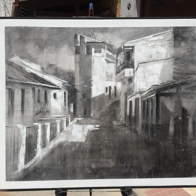 3er premio I Certamen de Pintura de Benalúa de las Villas (Granada).