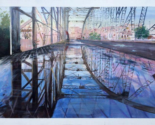 """1er premio XVIII Premio de Pintura   """"Fco. Prieto"""" de Arcos de la Frontera (Cádiz)"""