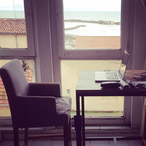 J'aime bien mon nouveau bureau #ecriture