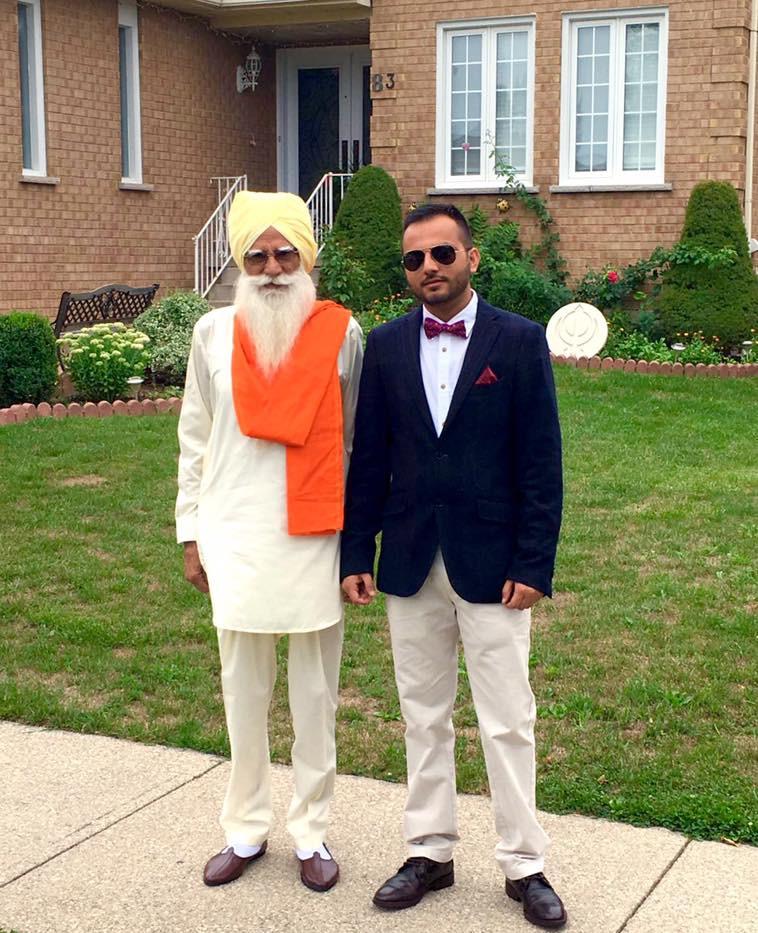 Grand Father Sardar Darshan Singh