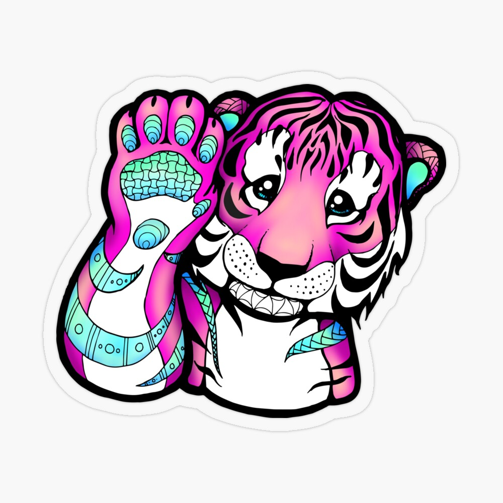 High5TigerSticker