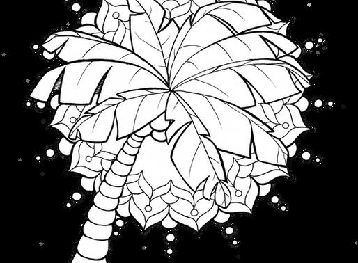 Palm Tree Mandala