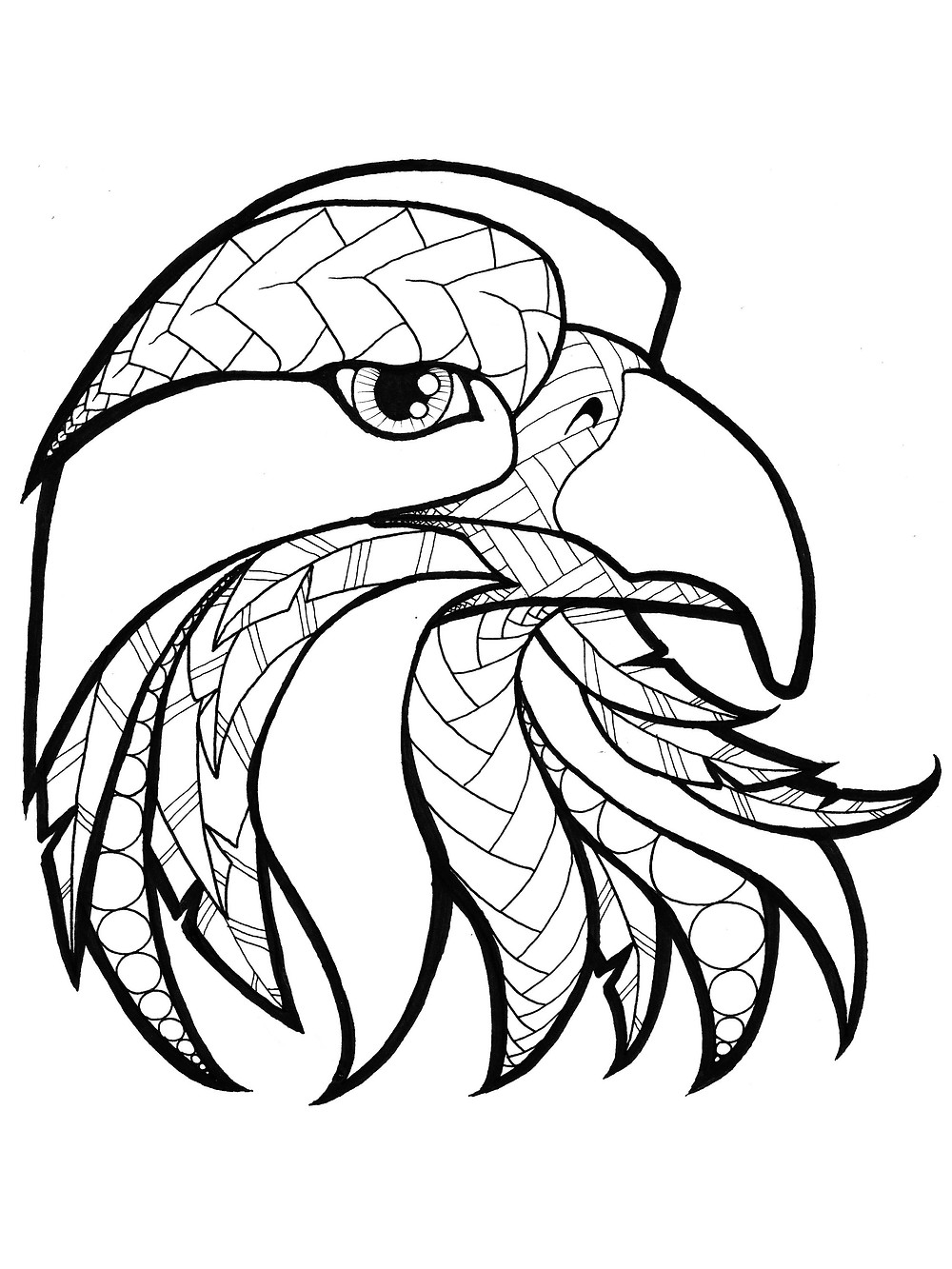 USA Patriotic Coloring Page