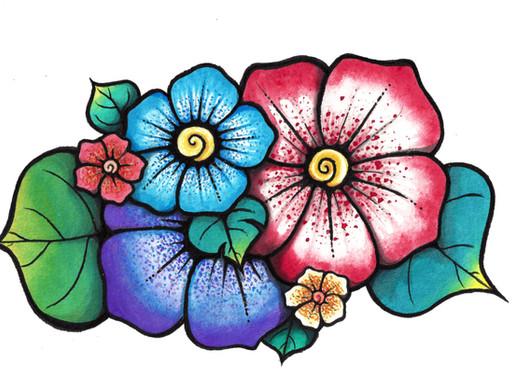 Hawaiian flowers by Jenny
