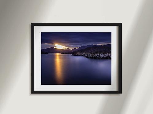 Lakes of Killarney at Sunset