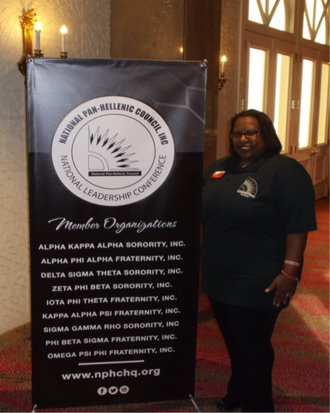 Southern Region Vice President Sweetheart Letitia Ivey