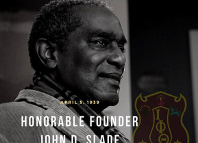 Iota Phi Theta Fraternity Mourns the Loss of Honorable Founder John D. Slade