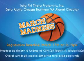 Beta Alpha Omega Alumni Chapter Host March Madness Bracket for Scholarship Fund