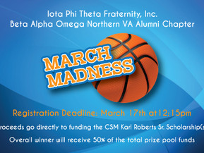 Beta Alpha Omega Alumni Chapter Host March Madness Bracket for Scholarship Fund