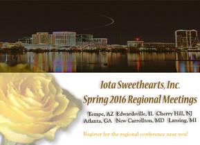2016 Spring Regional Dates Are Announced
