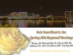 2016 Spring Regional Dates Are Announced