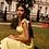 Thumbnail: Khanya yellow midi dress