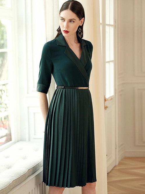 Green Blazer style dress