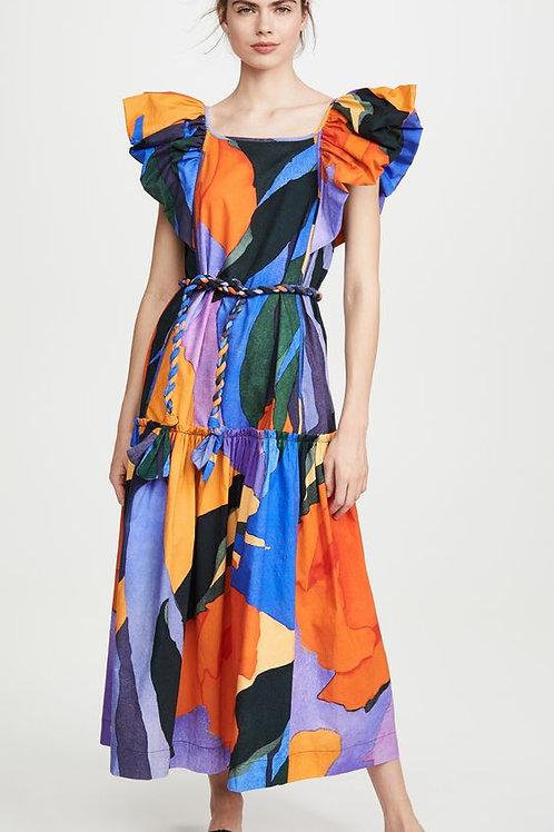Martha summer print dress SS20/21