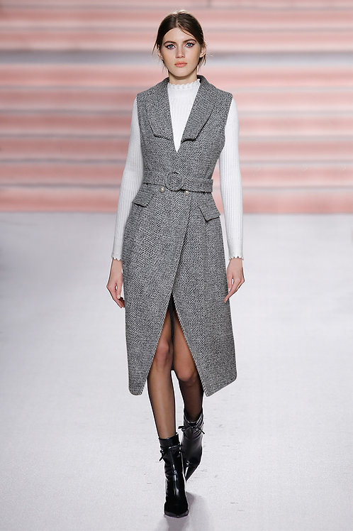 Grey Tweed set