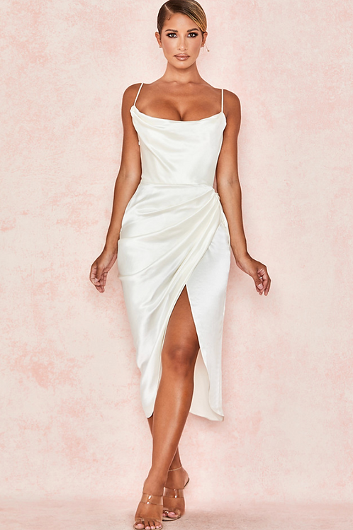Rele Structured slip dress
