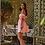 Thumbnail: Alexia Pink cut-out mini dress