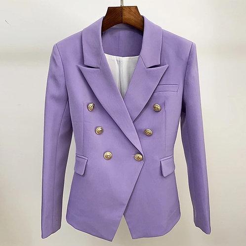 Lilac signature blazer