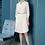 Thumbnail: Martha Lantern Sleeve pleated Dress