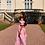 Thumbnail: Gugu Pink Maxi Dress