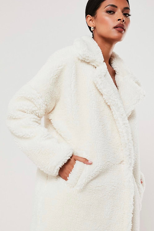 White oversized teddy cost