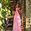 Thumbnail: Lethu Pink Maxi dress