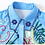 Thumbnail: Collar Short Sleeve Shirt  + Pleated Midi Skirt set