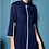 Thumbnail: Alara Navy Blue Dress