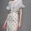 Thumbnail: Chiffon blouse and polka dot skirt