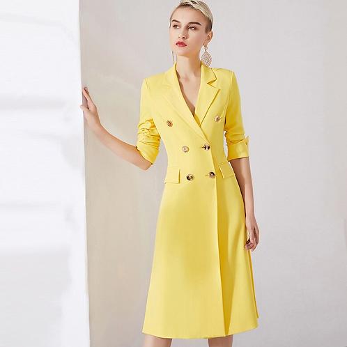 Canary Yellow coat