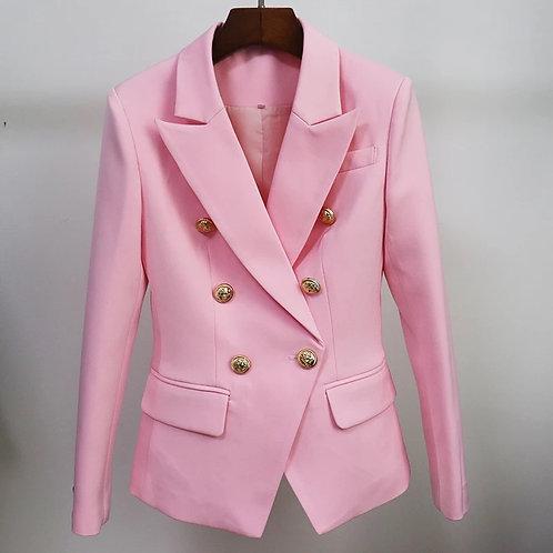 Marshmallow pink blazer