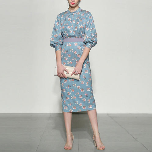 Blue Alinah Dress