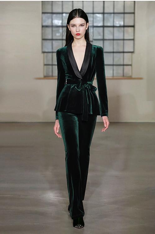 Green Velvet Suit