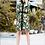 Thumbnail: Print Dress with gold button detail