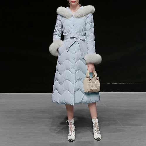 Shirley puffer coat dress