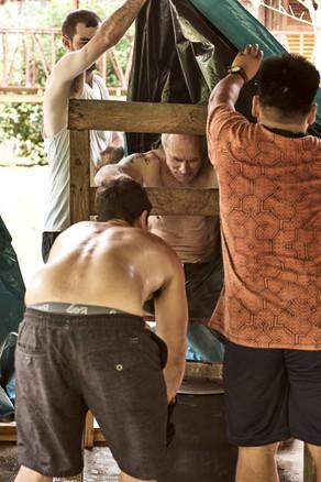The Best Sauna for Trauma Healing! Shipibo Plant Medicine Treatment - Casa Galactica - Ayahuasca Retreats & Noya Rao Dietas
