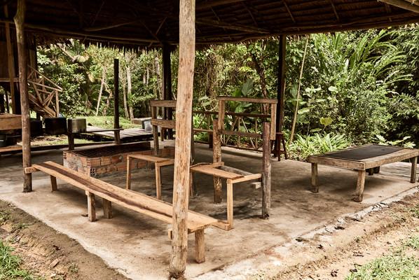 Sauna / Medicine Hut at Chamisal Retreat Center - Ayahuasca Retreats & Noya Rao Dieta - Casa Galactica