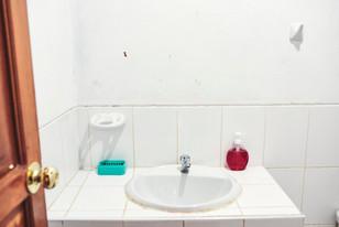 Sink in Your Private Bathroom at Casa Galactica for Ayahuasca Retreats & Noya Rao Dietas