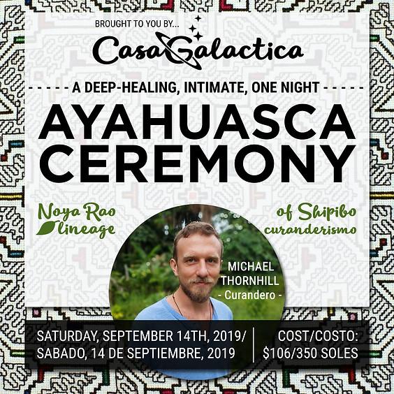 SHIPIBO TRADITION AYAHUASCA CEREMONY
