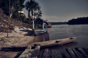 Banks of the Mishana Community - Perfect Place for a Swim in the Amazon Rainforest - Ayahuasca Retreat Peru - Casa Galactica