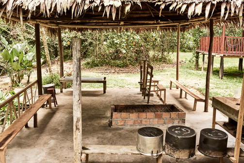 Vapour / Medicine Hut - Casa Galactica - Ayahuasca Plant Spirit Healing Retreats & Noya Rao Initiation Dietas