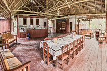 Shared Space, Kitchen & Dining Room at Chamisal Healing & Retreat Center - Casa Galactica