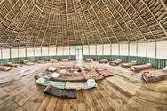 Maloca (Ceremony Space) at Casa Galactica - Chamisal Healing & Retreat Center - Ayauasca Retreats & Noya Rao Dietas