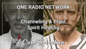 Channeling & Plant Spirit Healing:  One Radio Network Podcast with Michael Thornhill