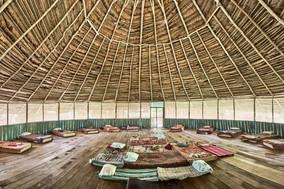 Naturally Made Maloca (Ceremony Space) - Casa Galactica - Chamisal Healing & Retreat Center - Ayahuasca Plant Spirit Healing Retreats & Noya Rao Initiation Dietas