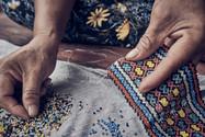 Traditional Shipibo Handcrafts Made by Angela on Our Ayahuasca Retreat - Casa Galactica