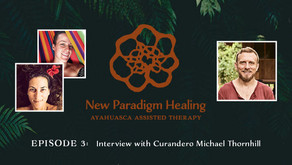 Trauma-informed Care & Ayahuasca Healing: Michael's Story on the New Paradigm Healing Podcast