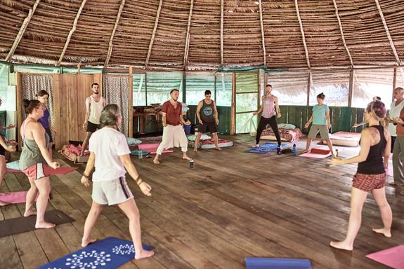 Qigong Additional Activity at Ayahuasca Plant Spirit Healing Retreat Peru - Casa Galactica