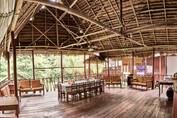 Open Air Dining Space at Chamisal Healing & Retreat Center - Casa Galactica - Ayahuasca Retreats & Noya Rao Dietas